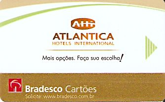 Hotel Keycard Choice Hotels  Brazil Front