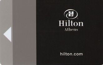 Hotel Keycard Hilton Athens Greece Front