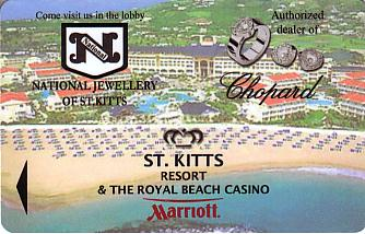 Hotel Keycard Marriott St Kitts Saint Kitts & Nevis Front