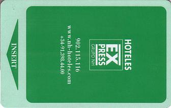 Hotel Keycard NH Hotels Generic Front